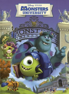 Monsters University sagobok