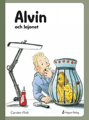 Alvin och lejonet / Carsten Flink ; illustrationer: Jesper Tom-Petersen ; översättning: Hans Peterson
