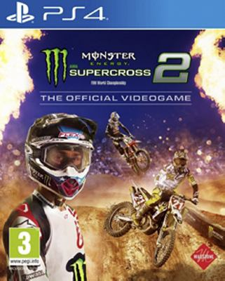 Monster energy supercross 2/PS