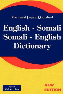 English-Somali, Somali-English dictionary
